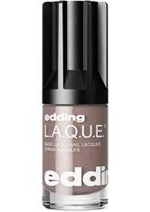 EDDING - edding L.A.Q.U.E. edding LAQUE modest maroon - NAGELLACK