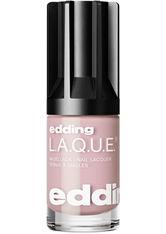 EDDING - edding L.A.Q.U.E. edding LAQUE recent rose - NAGELLACK