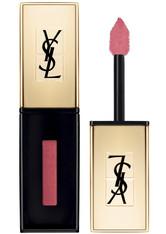 Yves Saint Laurent Rouge Pur Couture Vernis à Levres Rebel Nudes Liquid Lipstick  6 ml Nr. 103 - Pink No Taboo