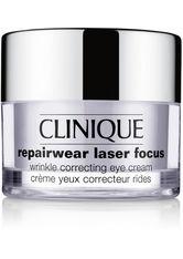 CLINIQUE - Clinique Pflege Anti-Aging Pflege Repairwear Laser Focus Wrinkle Correcting Eye Cream 15 ml - AUGENCREME
