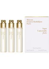 Maison Francis Kurkdjian Unisexdüfte Aqua Universalis Eau de Parfum Spray Globe Trotter Refill 3 x 11 ml