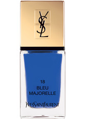 YVES SAINT LAURENT La Laque Couture Nagellack Nr. 10 Fuchsia Neo-Clasic, 18 Bleu Majorelle