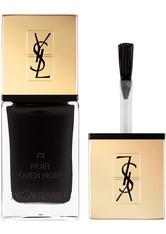 YVES SAINT LAURENT La Laque Couture Nagellack Nr. 10 Fuchsia Neo-Clasic, 73 Noir Over