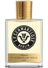 J.F. SCHWARZLOSE BERLIN - J.F. Schwarzlose Berlin Unisexdüfte 1A - 33 Eau de Parfum Spray 50 ml - Parfum