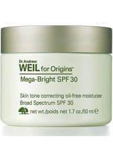 Dr. Andrew Weil For Origins™ Mega-Bright Skin Tone Correcting Oil-free Moisturizer SPF 30