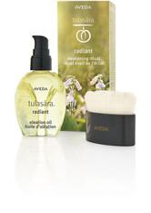Aveda Skincare Spezialpflege Tulasara Radiant Awakening Ritual Radiant Oleation Oil 50 ml + Facial Brush 1 Stk.