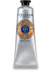 L'OCCITANE Fußpflegecreme »Karité Créme Pieds«, silberfarben, 30 ml, silberfarben,dunkelgelb
