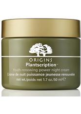 Origins Anti-Aging Pflege Plantscription Youth-Renewing Power Night Cream (50ml)
