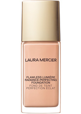 LAURA MERCIER - LAURA MERCIER Flawless Lumière Radiance Perfecting Foundation Flüssige Foundation  30 ml Alabaster - Foundation