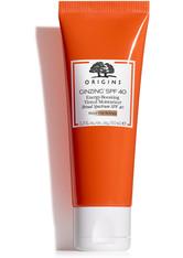 ORIGINS - Origins Gesichtspflege Feuchtigkeitspflege GinZing Energy-Boosting Tinted Moisturizer SPF 40 50 ml - BB - CC CREAM