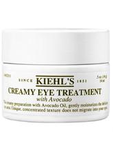 KIEHL'S - Kiehl's Gesichtspflege Augenpflege Creamy Eye Treatment with Avocado 28 ml - TAGESPFLEGE