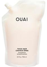 Ouai Shampoo und Conditioner Thick Shampoo - Refill Pouch Haarshampoo 946.0 ml