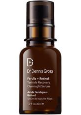 Dr. Dennis Gross Skincare - Ferulic + Retinol Wrinkle Recovery Overnight Serum, 30 Ml – Serum - one size