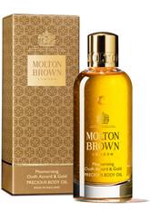 Molton Brown Body Essentials Mesmerising Oudh Accord & Gold Precious Body Oil Körperöl 100.0 ml