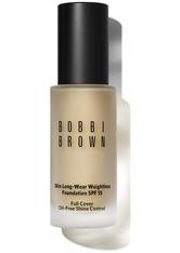 Bobbi Brown Makeup Foundation Skin Long-Wear Weightless Foundation SPF 15 Nr. 1.25 Cool Ivory 30 ml