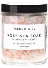 French Girl Produkte Rose Sea Soak - Calming Bath Salts Badezusatz 283.0 g