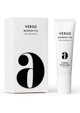 VERSO - Verso - Blemish Fix, 30 Ml – Serum - one size - Tagespflege