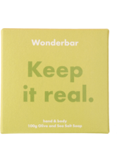WONDERBAR - Olive & Sea Salt Soap - SEIFE