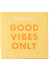 WONDERBAR - Healing Clay & Lemongrass Soap - Seife