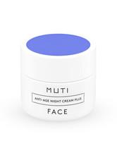 MUTI - Anti-Age Nachtcreme Plus - NACHTPFLEGE