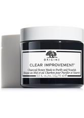 Origins Clear Improvement Charcoal Honey Mask to Purify and Nourish 75 ml Reinigungsmaske