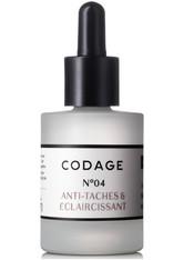 Codage Produkte Sérum N°04 Anti-Taches & Éclaircissant Anti-Aging Pflege 30.0 ml