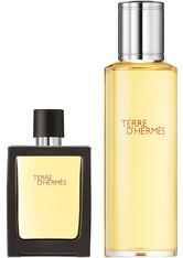 HERMÈS Terre d'Hermès 121 Gramm - Eau de Parfum Refillable Spray + Refill Bottle (155ml)
