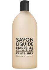 La Compagnie de Provence Liquid Marseille Soap Shea Butter Refill 1000 ml Flüssigseife
