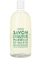 La Compagnie de Provence Savon Liquide de Marseille Revitalizing Rosemary - Refill Flüssigseife 1000 ml