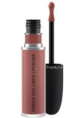 Mac M·A·C Powder Kiss Collection Powder Kiss Liquid Lipcolour 5 ml Over the Taupe