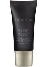 Laura Mercier Silk Crème Oil Free Photo Edition Foundation 30ml 1C1 Rose Ivory (Very Fair, Cool)