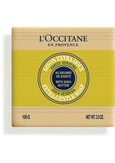 L'OCCITANE Karité Seife Zitronen-Verbene Stückseife  100 g