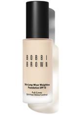 Bobbi Brown Makeup Foundation Skin Long-Wear Weightless Foundation SPF 15 Nr. 17 Alabaster 30 ml