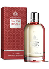 MOLTON BROWN - MOLTON BROWN Rosa Absolute Sumptuous Bathing Oil -  200 ml - DUSCHEN & BADEN