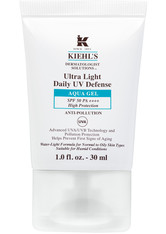 Kiehl's Ultra Light Daily Uv Defense Aqua Gel Sonnenschutz für ölige Haut mit SPF 50 30 ml