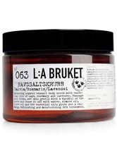 L:A BRUKET - La Bruket Körperpflege Peelings Nr. 063 Salt Scrub Sage/Rosemary/Lavender 350 ml - PEELING