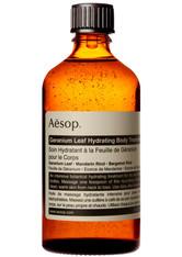 Aesop - Geranium Leaf Hydrating Body Treatment - Körperöl