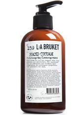 L:A BRUKET - No. 159 Hand Cream Lemongrass - HÄNDE