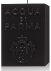 Acqua di Parma Accessoires Kerzen Schwarze Cube Candle Ambra 1 Stk.
