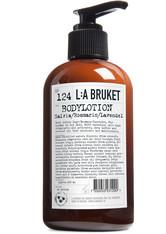 L:A BRUKET - No. 124 Body Lotion Sage/Rosemary/Lavender - KÖRPERCREME & ÖLE