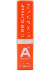 A4 Cosmetics Produkte Kiss & Help Lipbalm Lippenpflege 4.0 g