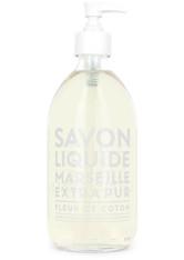 La Compagnie de Provence Savon Liquide Marseille Extra Pur Fleur de Coton Flüssigseife  495 ml