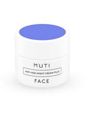 MUTI - Muti Face Anti-Age Night Cream Plus 50 ml Nachtcreme - NACHTPFLEGE