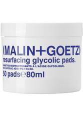 Malin+Goetz Produkte Resurfacing Glycolic Pads Reinigungspads 50.0 st