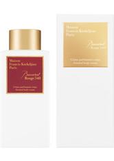 Maison Francis Kurkdjian - Baccarat Rouge 540 Scented Body Cream, 250 Ml – Körpercreme - one size