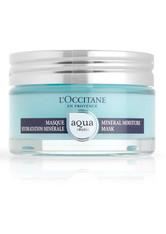 L'OCCITANE Aqua Réotier Feuchtigkeitsspendende Mineral Gesichtsmaske 75 ml