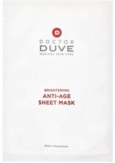 Doctor Duve Anti-Age Sheet Mask Gesichtsmaske (5 Stück) 90 ml