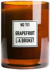 L:A BRUKET - Grapefruit Candle - DUFTKERZEN