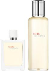 HERMÈS Terre d'Hermès 121 Gramm - Eau Très Fraîche Eau de Toilette Refillable Spray + Refill Bottle (155ml)