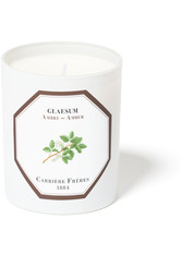 CARRIÈRE FRÈRES - Carrière Frères Scented Candle Amber - Glaseum - 185 g - Duftkerzen